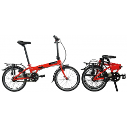 DAHON VITESSE i7 7-Velocità fresh cherry red - 20""
