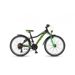 Winora rage 24 21v TX35 17 neroime/verde opaco
