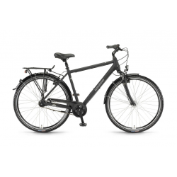 "Winora Holiday Uomo 28"" 7v Nexus 17 nero opaco"