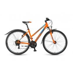 """Winora Grenada Donna 28"""" 21v TY300 17 arancione/azzurro"""