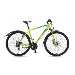 """Winora Vatoa Uomo 28"""" 21v TX800 17 lime/verde/azzurro"""