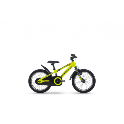 "Haibike SEET Greedy 16"" 1v a contropedale 17 lime/antracite/rosso"