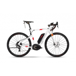 Haibike XDURO Race S 6.0 500Wh 11v Rival 17 HB BPI bianco/rosso
