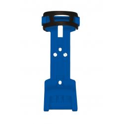 Supporto per lucchetto pieghevole Trelock ZF 234 X-Move, blu