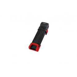Lucchetto pieghevole Trelock Trigo L con supporto FS 300/100, rosso
