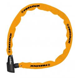 Lucchetto a catena Trelock 110cm, Ø 4mm BC 115/110/4, arancio, senza supporto