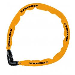 Lucchetto a catena Trelock Kombi 60cm, Ø 4mm BC 115/60/4, arancio, senza supporto