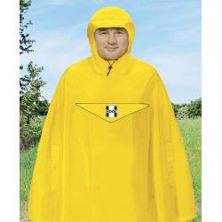 Poncho antipioggia Hock Rain Light giallo segnale T.XL