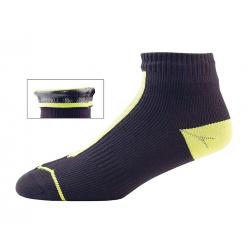 Calze SealSkinz Road Socklet T. L (43-46) giallo/nero impermeabile