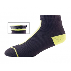 Calze SealSkinz Road Socklet T.XL (47-49) giallo/nero impermeabile
