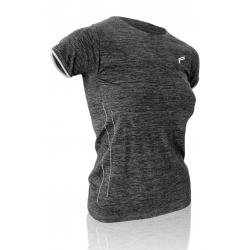 T-Shirt F-Lite donna ML140 First Layer nero melange Tg.M (38-40)