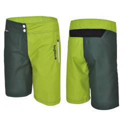 Pantaloni Multisport Bergfieber TRAIL Da verde/verde T.L
