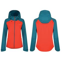 Giacca da donna Dare2b Recourse Jacket arancione / blu T. M / 38