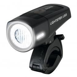 Luce anteriore a b Batteria LED Lightster USB SIGMA 25 Lux nero