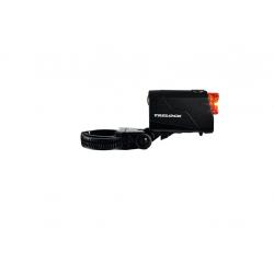 Faro posteriore a batteria LED Trelock Reego LS 720 ION USB, nero con supporto