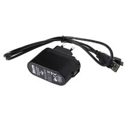 Caricabatteria b&m 447/3 per Ixon Pure con alimentatore di rete + cavo USB