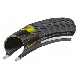 "Copertone Conti TopContact WinterII Prem.piegh 26x1.90"" 50-559 nero Skin Reflex"