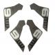 Cover-Kit Magura MT6 per impugnatura del freno dx e sx, 4 pezzi