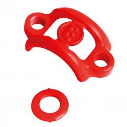 Upgrade-Kit Magura HS33R/HS33R Urban rosso fluo, rondella, morsetto per x1 impugnatura, 3 pezzi