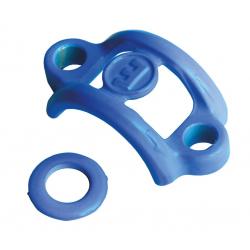 Upgrade-Kit Magura HS33R/HS33R Urban blu ciano, rondella, morsetto per 1 impugnatura, 3 pezzi