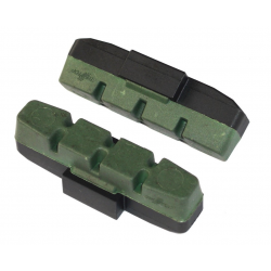 Pattini freno Magura HS11/34 verde, 2 paia