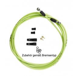 XLC Condotto per freno a disco Formula 3000 mm, verde