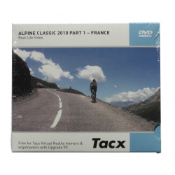 DVD Tacx Virtual Reality T1956.54 Alpine Classic 2010 Part I