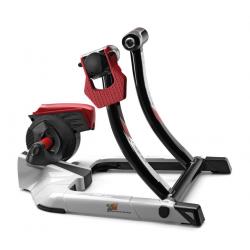 Hometrainer Qubo Digital Smart B+ Rullo magnetico, bianco/rosso
