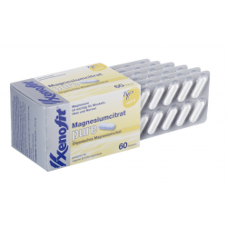 Citrato di magnesio puro Xenofit Confezione con 60 capsule da 1,06 gr