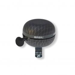Campanello Ding-Dong Basil Noir nero metallizzato, Ø 60mm