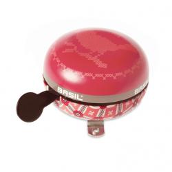 Campanello Ding-Dong Basil Boheme vintage-red, Ø 80mm