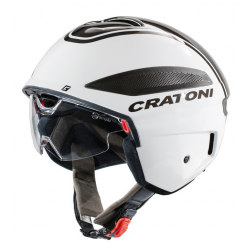 Casco Cratoni Vigor (bici speed) T. L (58-59cm) bianco/antracite lucido