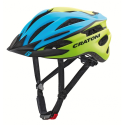 Casco Cratoni Pacer (Kid) T. S/M (54-58cm) blu/lime opaco