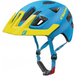 Casco Cratoni Maxster Pro (Kid) T. S/M (51-56cm) blu/giallo opaco