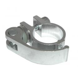 Leva sgancio rapido per FuzionSport4 wheel Alu silver con nasello lungo per regolazione altezza