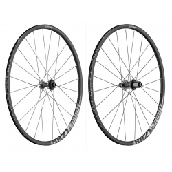 "Ruota anteriore DT Swiss RR 21 Dicut DB 28"" Alu, nero, Center Lock 100/12mm PP"