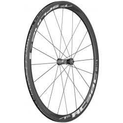 "Ruota anteriore DT Swiss RC 38 C Spline 28"" Carbonio, nero, 100/5mm, QR"