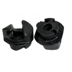 Gancio fissaggio Thule per staffe 10mm Pack 'n Pedal