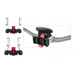 Adattatore manubrio T-ONE Talon E-Bike Alu/plastica 31,8/25,4 mm