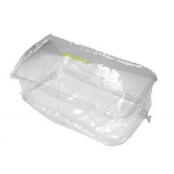 Cuscini riempimento gonfiabili medi 28x24x10 cm trasparente