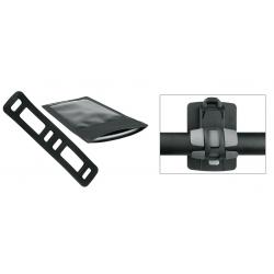 Supporto Smartphone SKS Smartboy nero, plastica, inclusa borsa