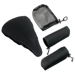 Coprisella e protezioni per manopole, neri