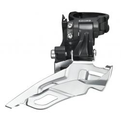 Deragliatore Deore Down Swing Dual Pull FD-M611X6L nero 34,9/31,8/28,6mm
