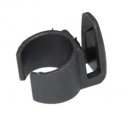 Fissaggio per aste Hesling 20 mm grigio, per protezione abiti Secura, Elegance