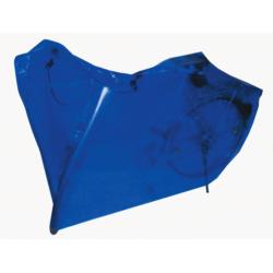 Telo copribicii 200x100cm azzurro con occhielli e cordino