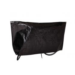 Copribicicletta VK 110 x 210 cm, nero con occhielli e corda