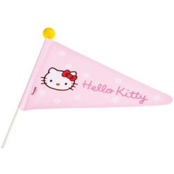 Bandierina Hello Kitty stelo in due parti