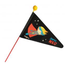 Bandierina Super Neo, stelo in 2 parti