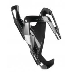 Portaborraccia Elite Vico Carbon carbonio, nero lucido/bianco