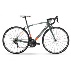 Haibike AFFAIR Race 8.0 22-v. Ultegra 18 HB oliva/arancione/argento opaco